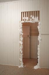 Mock: mock cream and doorway
