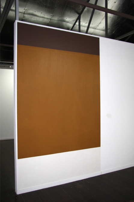 Caramel Slice. creamy chocolate paint, chewy caramel paint, cookie crumb paint and gallery wall.