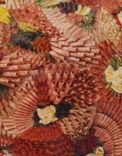 Flesh (detail) collage