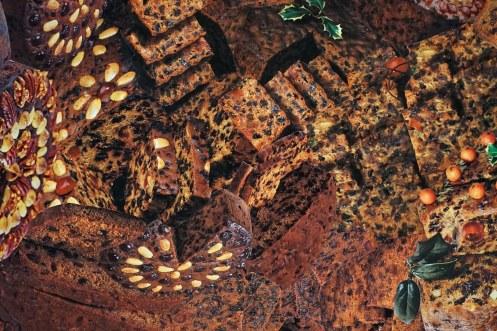 Dark Cookbook image collage. 70x70cm