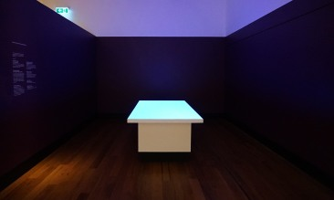 From the ground up. Single channel video installation