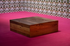 Umber. Recycled Australian hardwoods carved. 105x105x37cm Photograph by Andrew Curtis